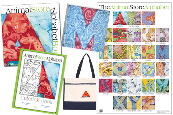 Animal Store Alphabet Book products