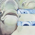 Ernie, the Animal Store Alphabet spokes fish
