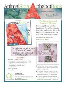 Animal Store Alphabet Book Sell Sheet