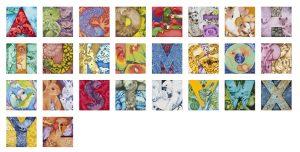 Animal Store Alphabet Book Canvas Prints